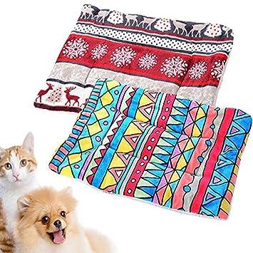 Amazon.com: RANRANRANHOME - Cojín para mascotas, cama de ...