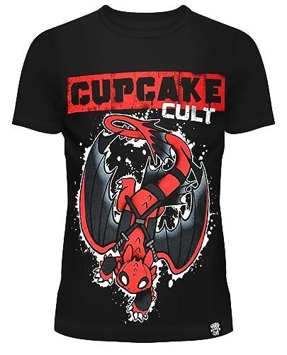 Cupcake Cult -  T-shirt - Collo a U  - Donna