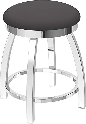 Holland Bar Stool Co. Misha Swivel Vanity Stool, 18 Seat Height, Canter Storm