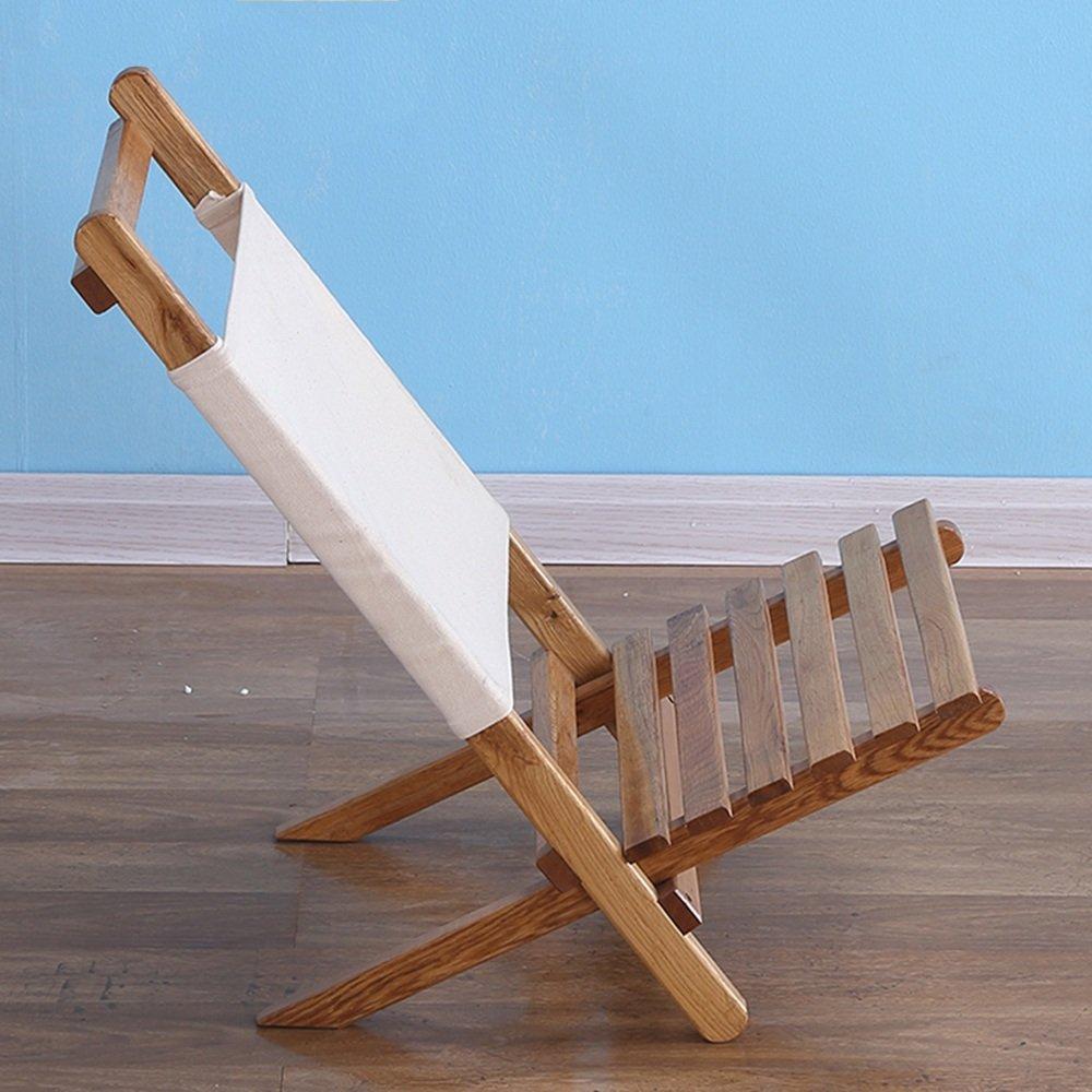 QFFL ソリッドウッドレジャーソファリクライニング/バルコニーランチブレイク簡易背もたれ椅子/屋外釣りビーチポータブル折り畳み椅子 アウトドアスツール   B07F7ZPG33