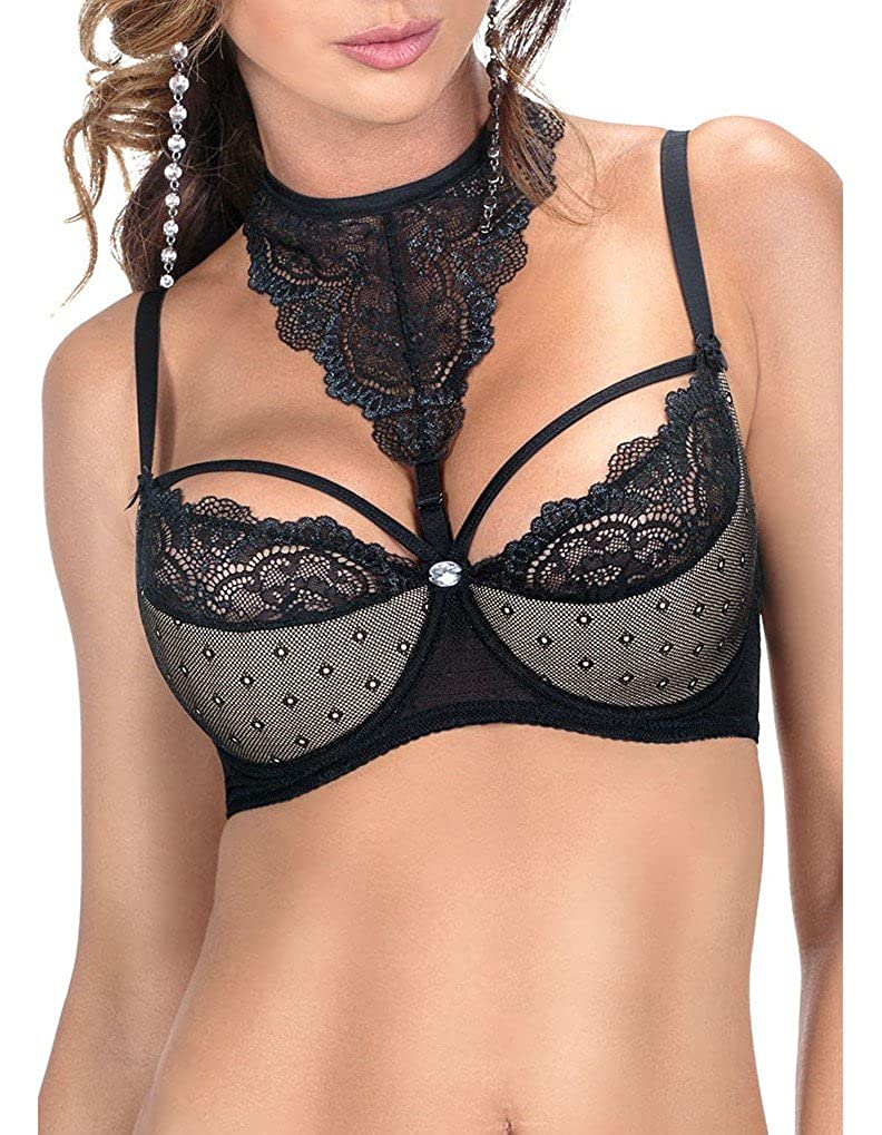 75317e255 Roza Women s Zulaj Black Padded Underwired Push Up Bra  Roza  Amazon.co.uk   Clothing