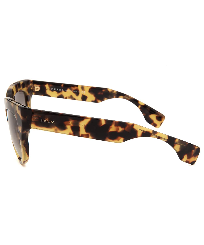 e748df80fbe4 ... low price prada 07qs 7s00a7 tortoise 07qs poeme cats eyes sunglasses  lens category 2 amazon clothing