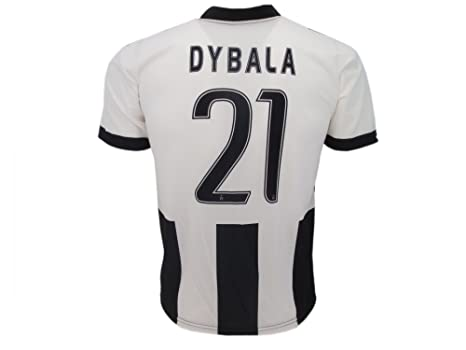 pretty nice 59ccb 7ee6f T-Shirt Jersey Futbol Juventus Paulo Dybala 21 Replica Authorized Adult  Child
