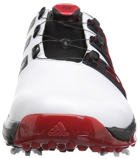 sale retailer a8d52 d28ff adidas da Uomo Pwrband Boa Boost Ftwwht Scarpe da Golf Amazon.it Scarpe e  borse
