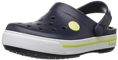 bliżej na złapać najnowsza kolekcja crocs Unisex Crocband II.5 Clog K Slip-on Shoes (Multicolour, C6C7)
