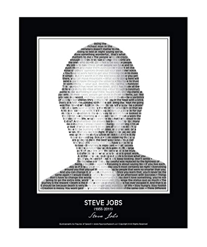 A3 sizes available: 5R Steve Jobs Photographic Print Poster on Photographic Paper A4