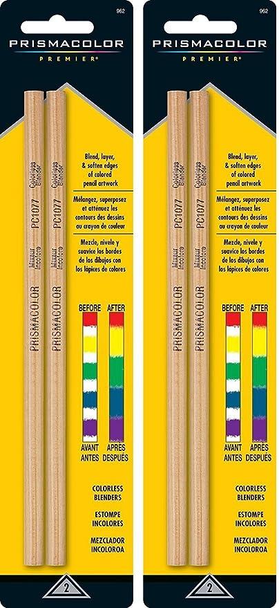 12 Pencils Total Prismacolor BLENDER PENCILS 6-Packs of 2 Pencils