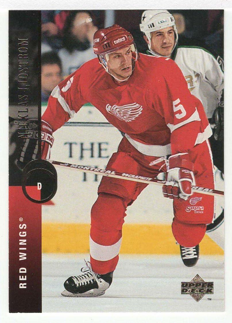 1994-95 Upper Deck # 112 NM//MT Hockey Card Nicklas Lidstrom