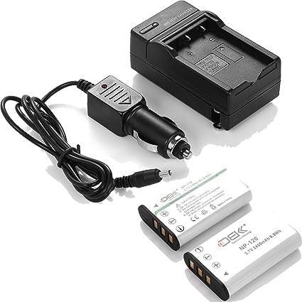 Amazon.com: DBK 2 piezas Fujifilm NP-120 Batería de repuesto ...