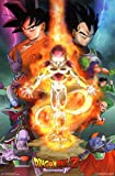 Dragon Ball Z Resurrection F- One Sheet Poster 22 x 34in