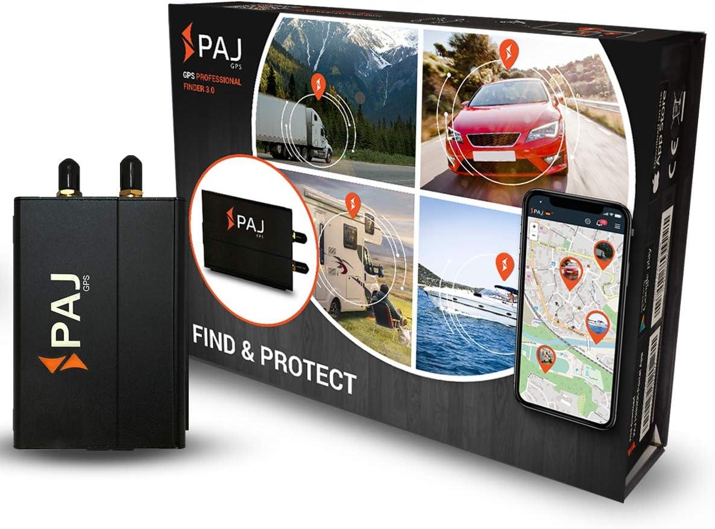 PAJ GPS Professional Finder 3.0 GPS- Marca Alemana- Localizador Protección Antirrobo de Coches, Motos y Camiones con conexión Directa a la batería- Seguimiento en Vivo