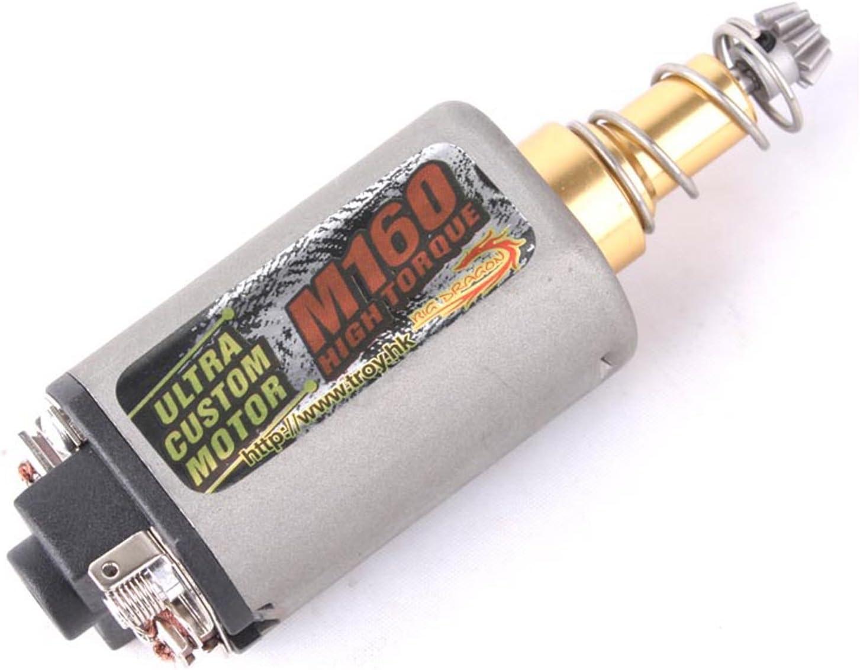 High Twist Type M160 High speed Torque AEG Motor Long Short Axis for Airsoft