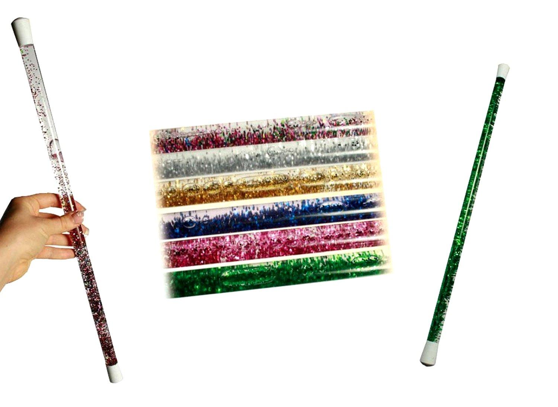 Une baguette magique avec des paillettes à l'intérieur - Pour les fées et les magiciens LCDG 102081