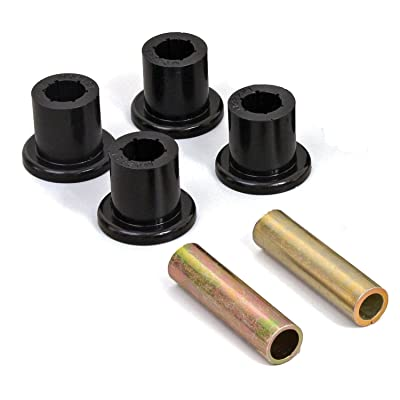 Daystar, Toyota Tacoma Greasable Bolt and Bushing Kit Rear Main Eyes Only, fits 1995.5 to 2004 2/4WD, KT02020BK, Made in America, Black: Automotive