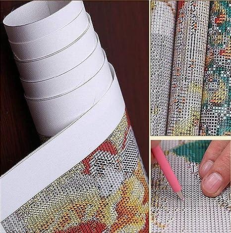 Vensf Diamant Peinture 5D Pleine Bande Dessin/ée Drill Pokemon Mosa/ïque Strass Broderie Point De Croix Maison,20X30cm