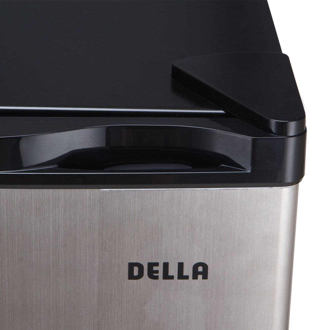 Della Compact Mini Refrigerator & Freezer, 1.6 Cubic Feet, Stainless Steel by DELLA (Image #5)