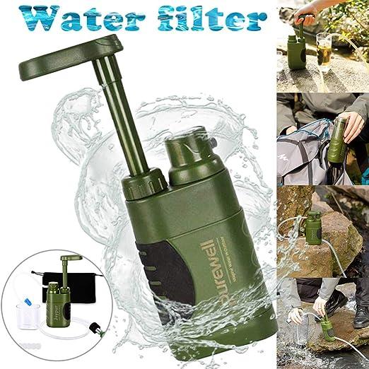 STHfficial Purificador De Agua Al Aire Libre Filtro De Agua De ...
