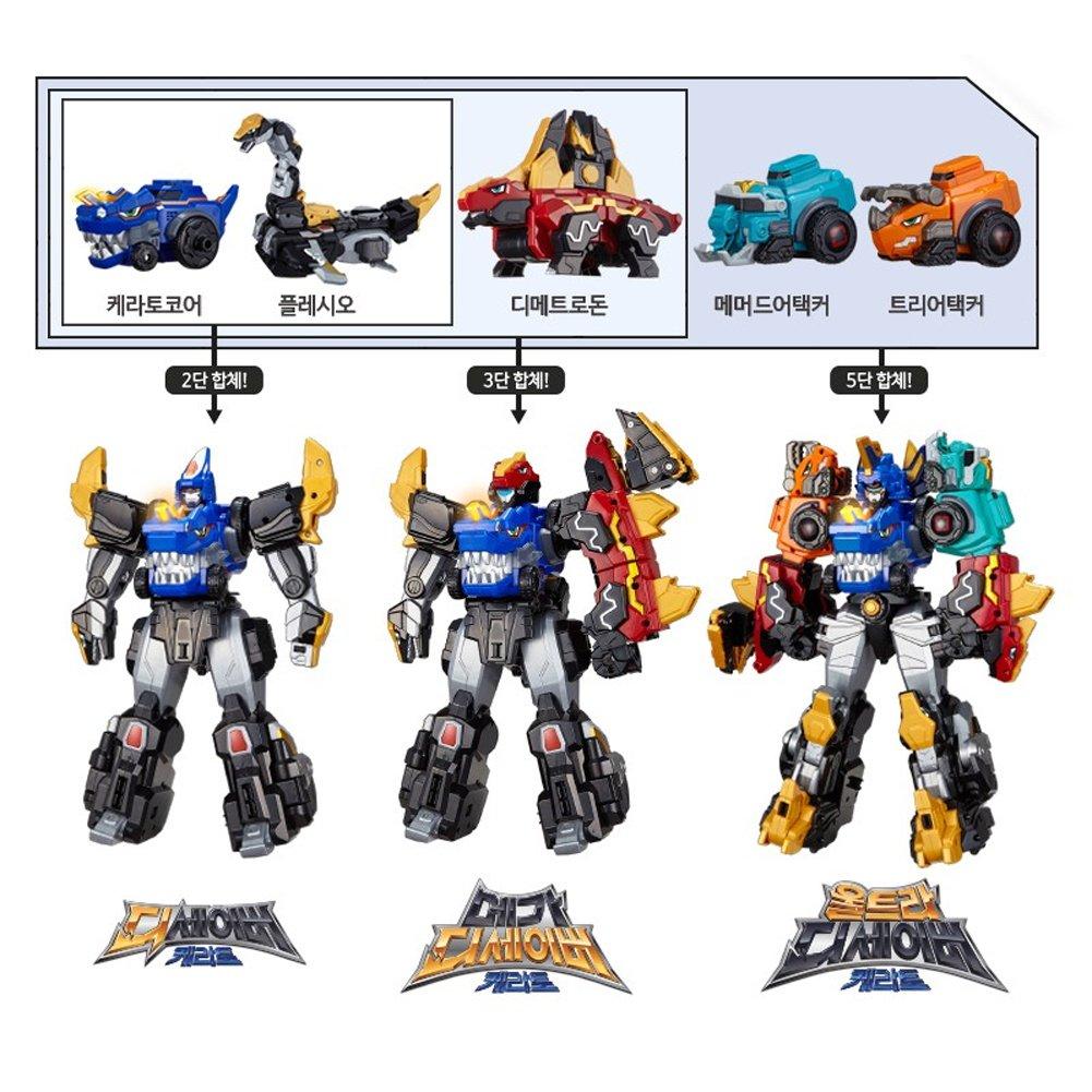 TUBAn Dinocore Mammoth Attacker Transformer Robot
