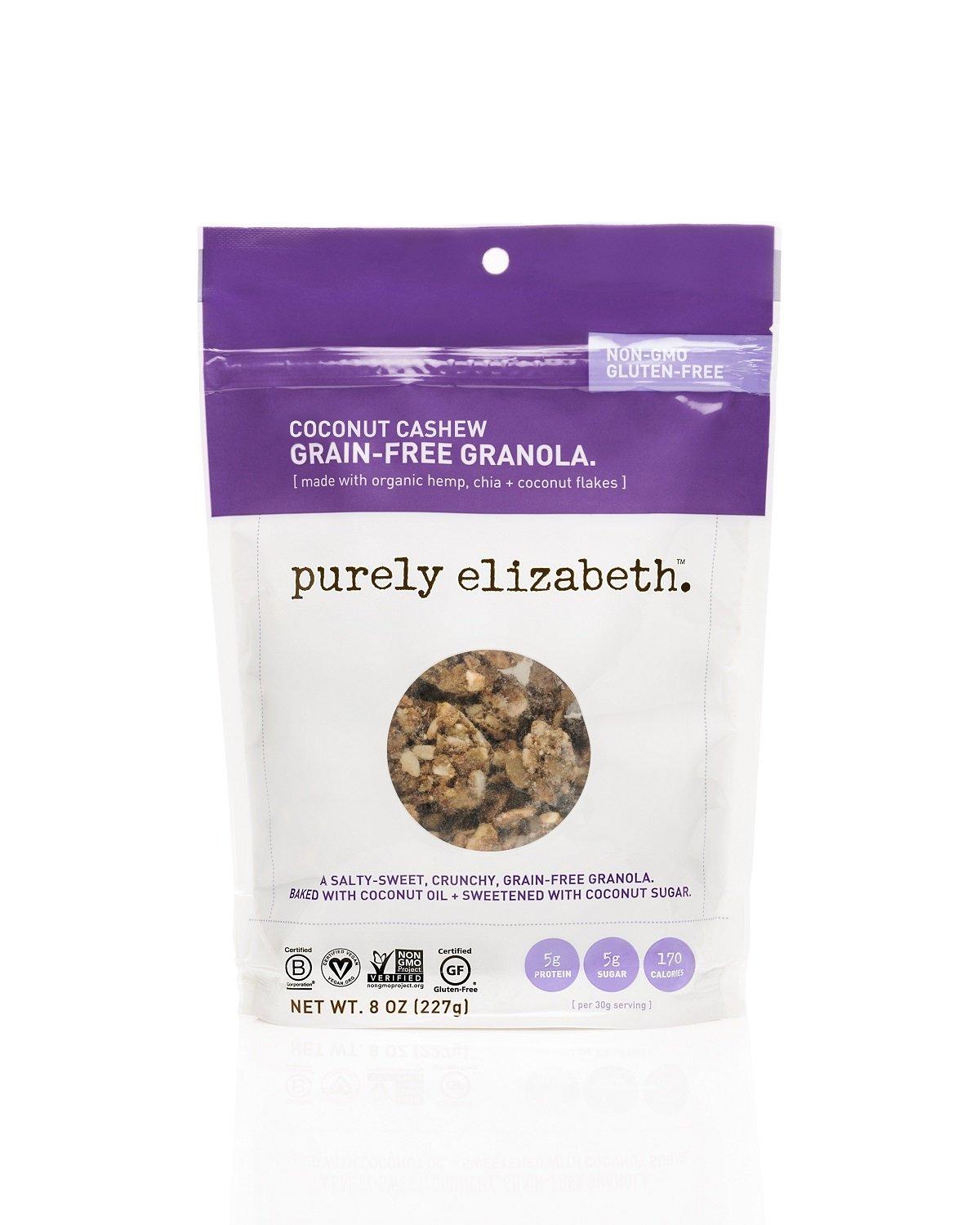 purely elizabeth Coconut Cashew Grain-Free & Gluten Free Granola, 0.5 Pound