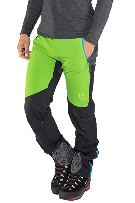 93025eef28 Karpos Express 300 - Pantalones de Trekking Hombre - Verde Negro Talla 50  2018