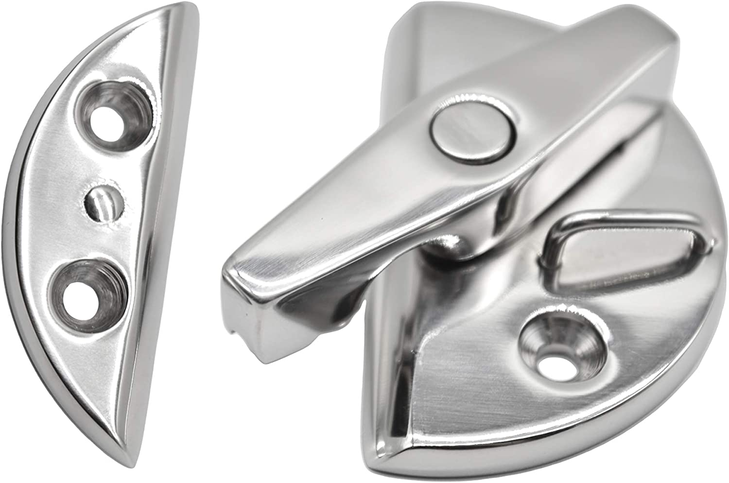 Deck Hatch Latch Door Catch Twist Locking Stainless Steel
