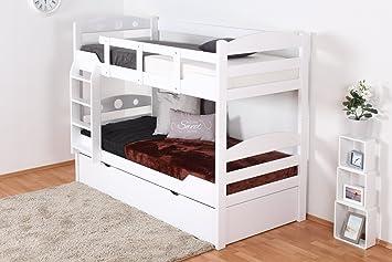 Etagenbett Weiß Erwachsene : Etagenbett für erwachsene metall maxi hasena ag