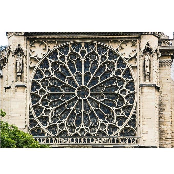 Tianya Cartel de Notre Dame de Paris,Póster 18x12,París ...