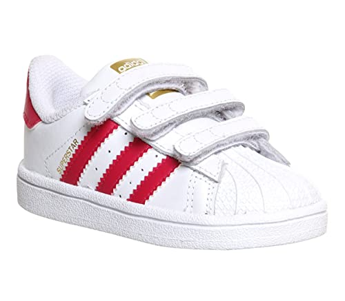 premium selection 510c3 e0a64 adidas Superstar Foundation Cf I Kids Trainers White Pink - K8 UK