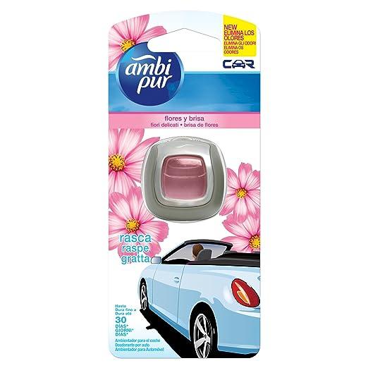 15 opinioni per Ambi Pur Car Deodorante per Auto con Clip, Fiori Delicati, 2 ml