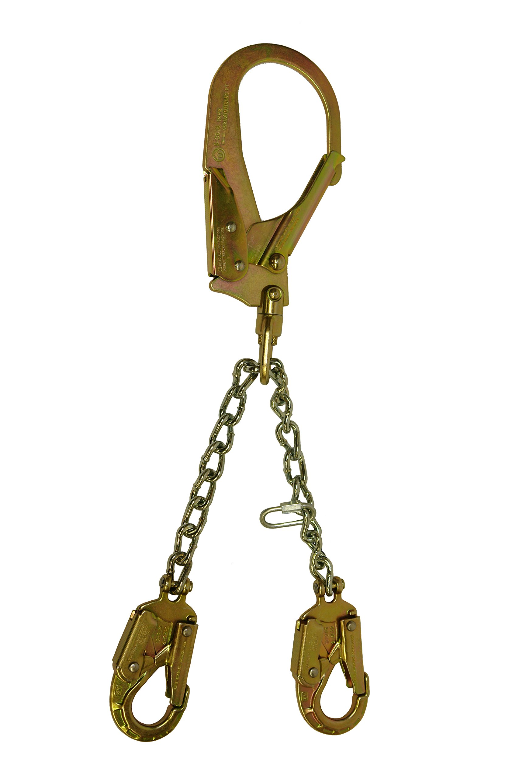 Elk River 13425 Adjuster Rebar Chain Assembly with Snaphooks and Swivel Rebar Hook, 25-1/2'' by Elk River (Image #1)