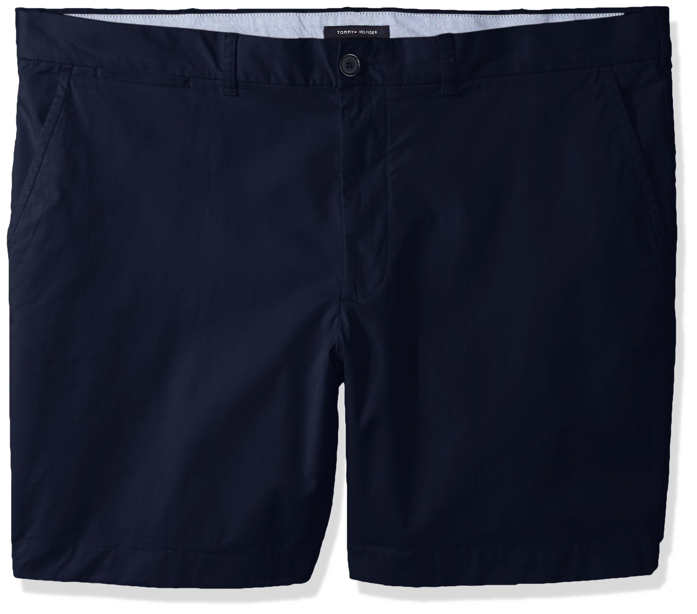 5a5879a8 Galleon - Tommy Hilfiger Men's Big And Tall Classic Fit Chino Shorts, Navy  Blazer, 2R, 46