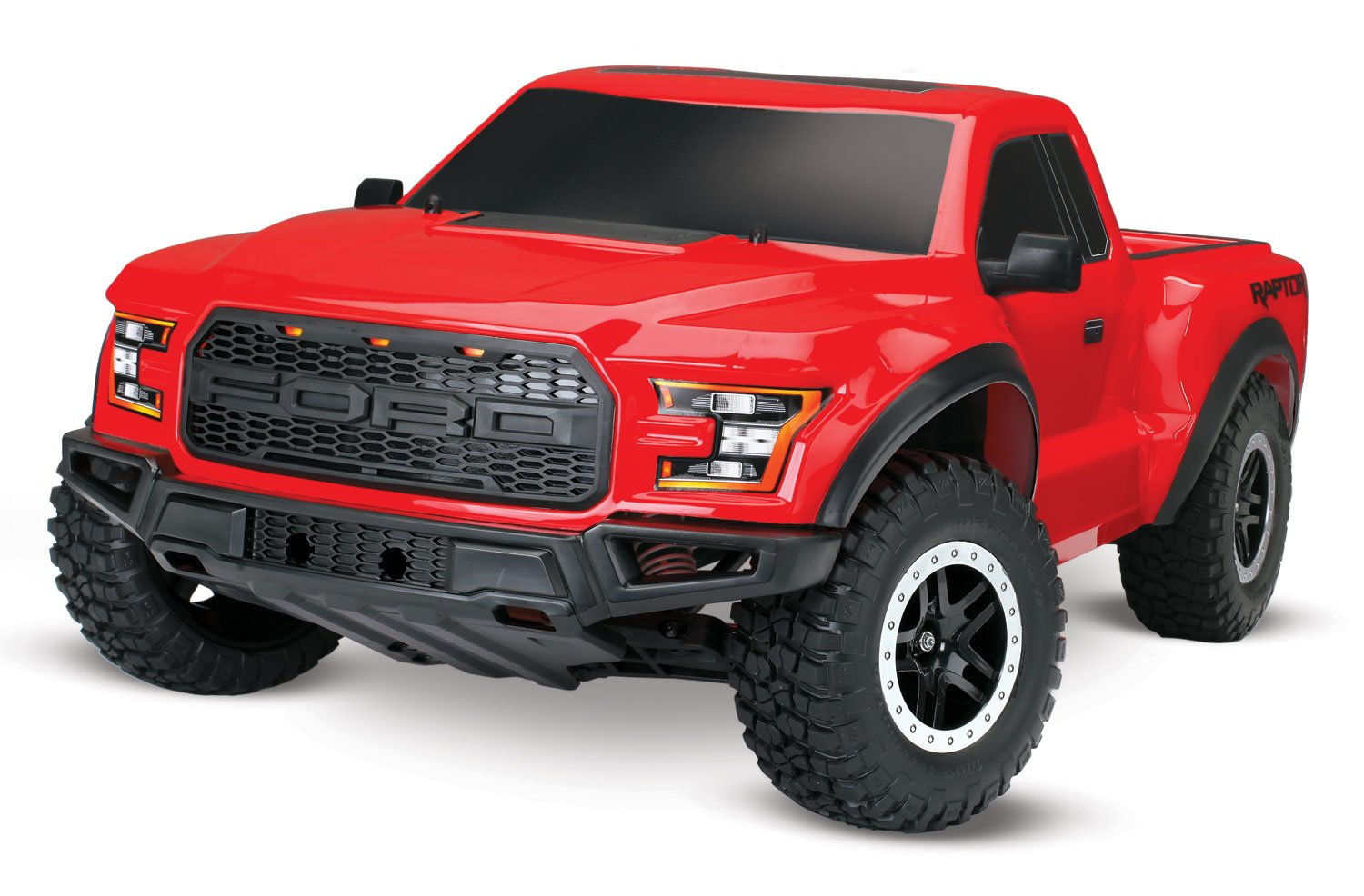 Traxxas 58094-1 2WD Ford Raptor with TQ 2.4Ghz Radio System (1/10 Scale), Red