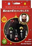 Beard Baubles Decorations Christmas Ornaments