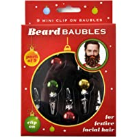 Beard Baubles Decorations Christmas Ornaments