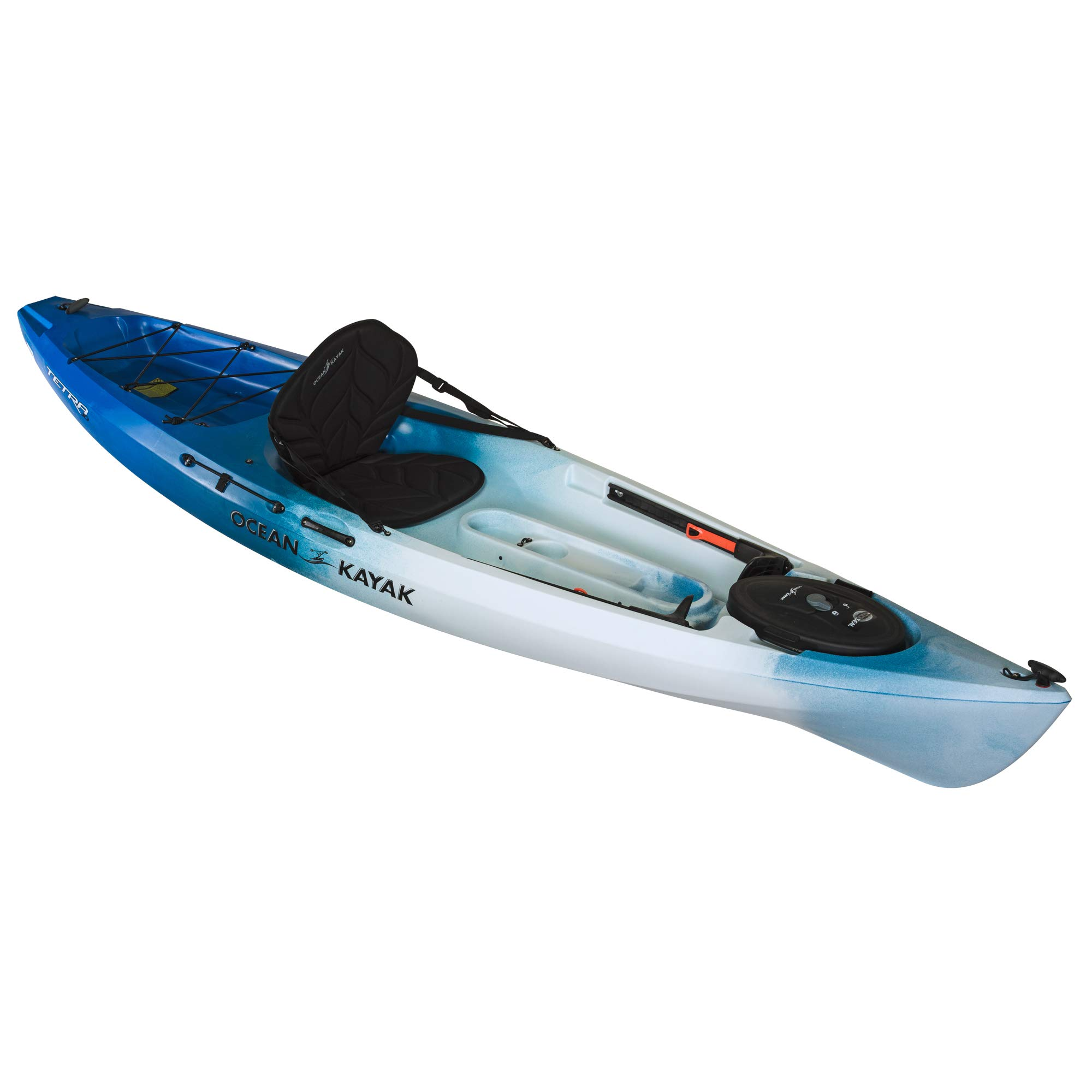 Ocean Kayak Tetra 10 One-Person Sit-On-Top Kayak, Surf, 10 Feet 8 Inches