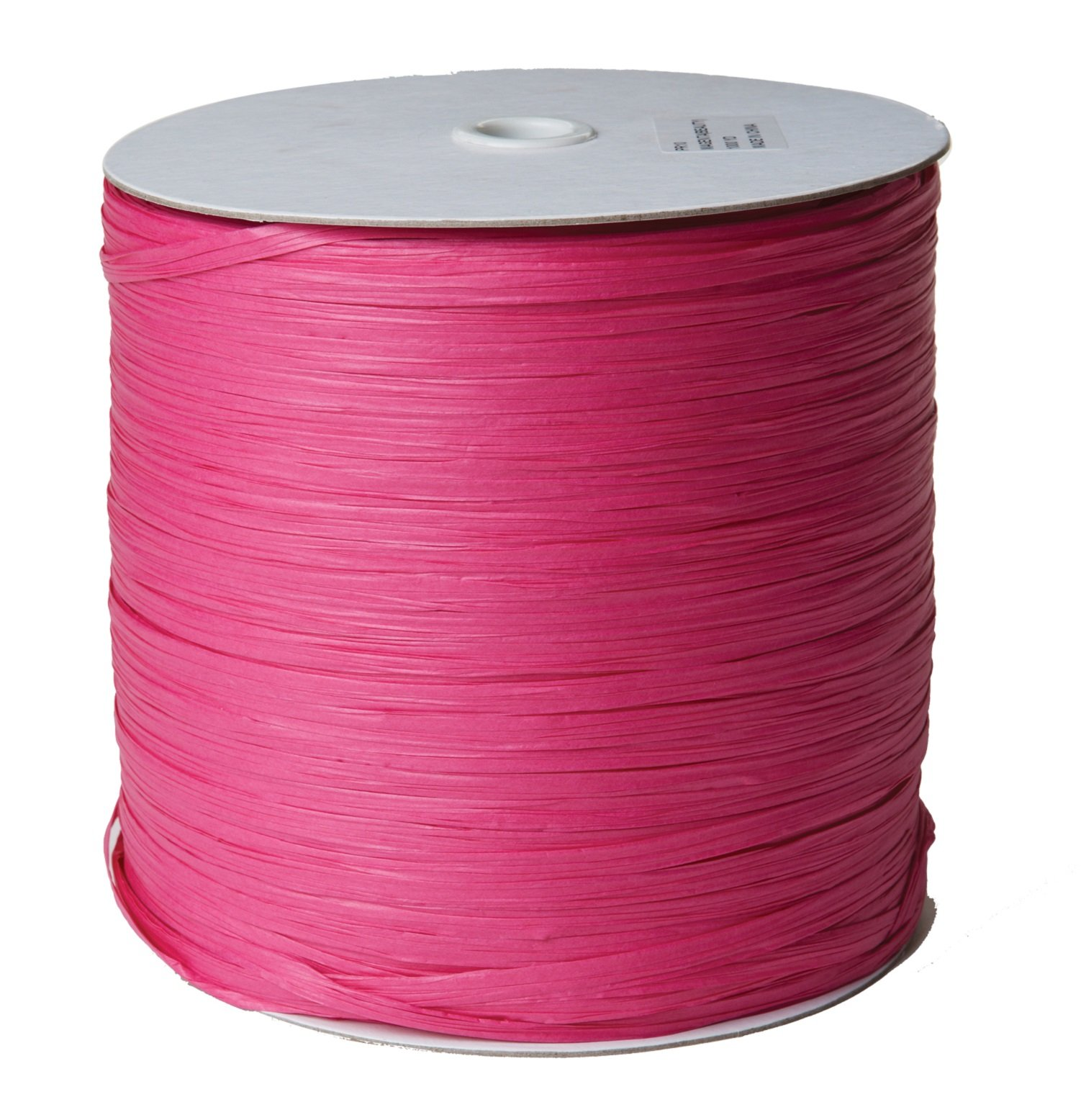 Jillson Roberts .25'' x 1000 Yard Bulk Spool Paper Raffia Ribbon Available in 16 Colors, Magenta by Jillson Roberts