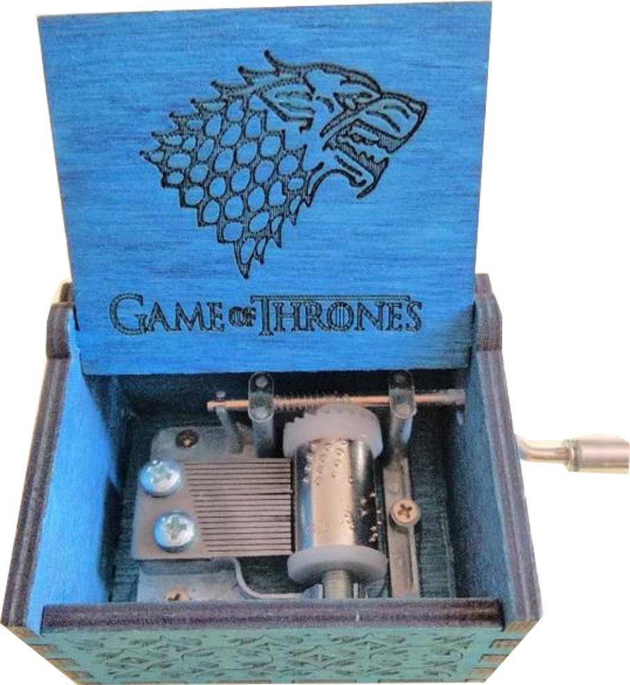 badarenxs Carillon Game Of Thrones in pura mano-classica carillon in legno a mano creativo in legno artigianato migliori Regali