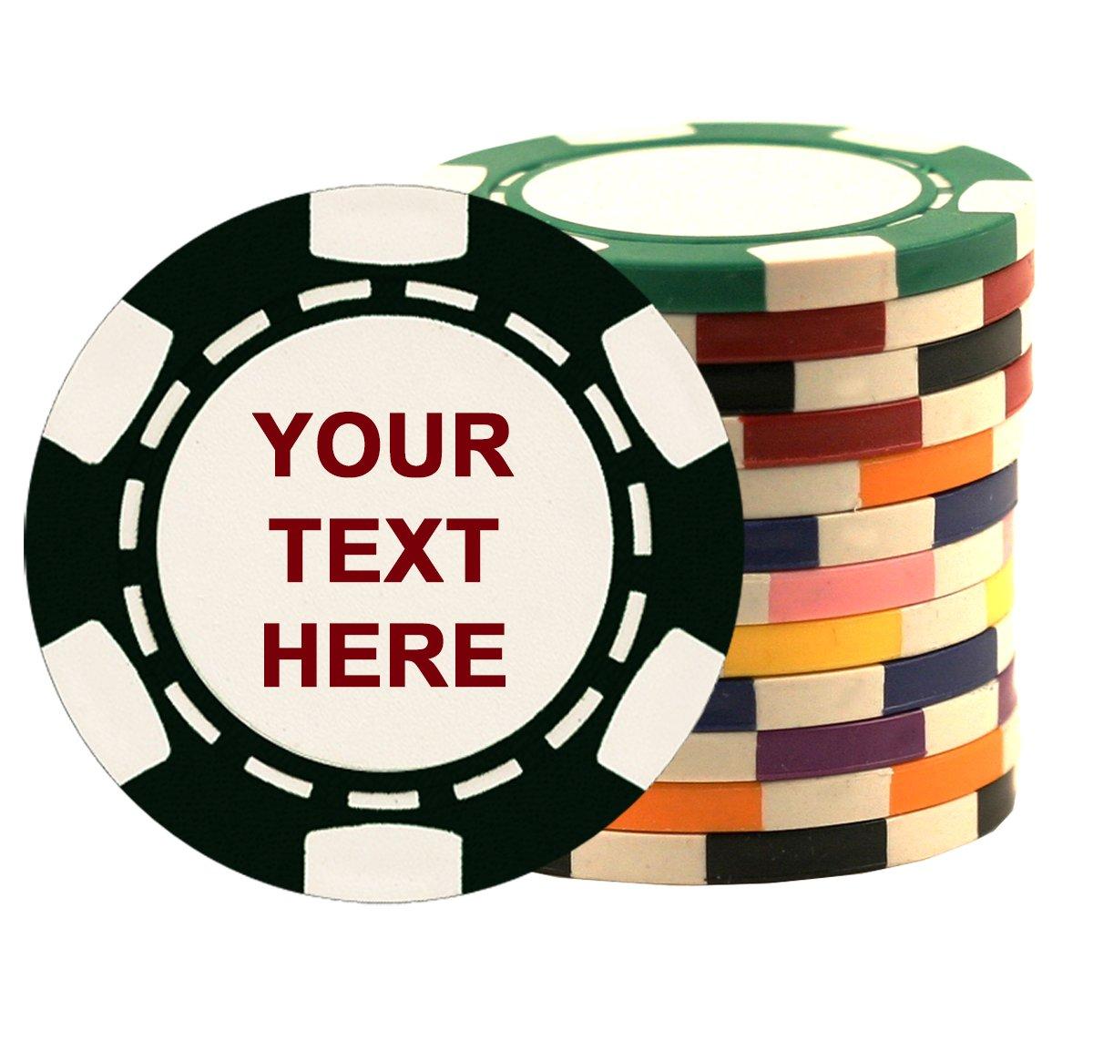 クレイ コンポジット チップ ポーカー B01DL1JRH6 チップ カスタマイズ可 500-Chips-2-Side-Imprint クレイ B01DL1JRH6, 生野区:b367d956 --- itxassou.fr