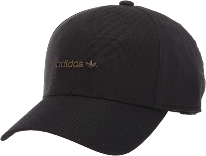 adidas Originals Originals Metal Forum Logo Cap, Black, One Size ...