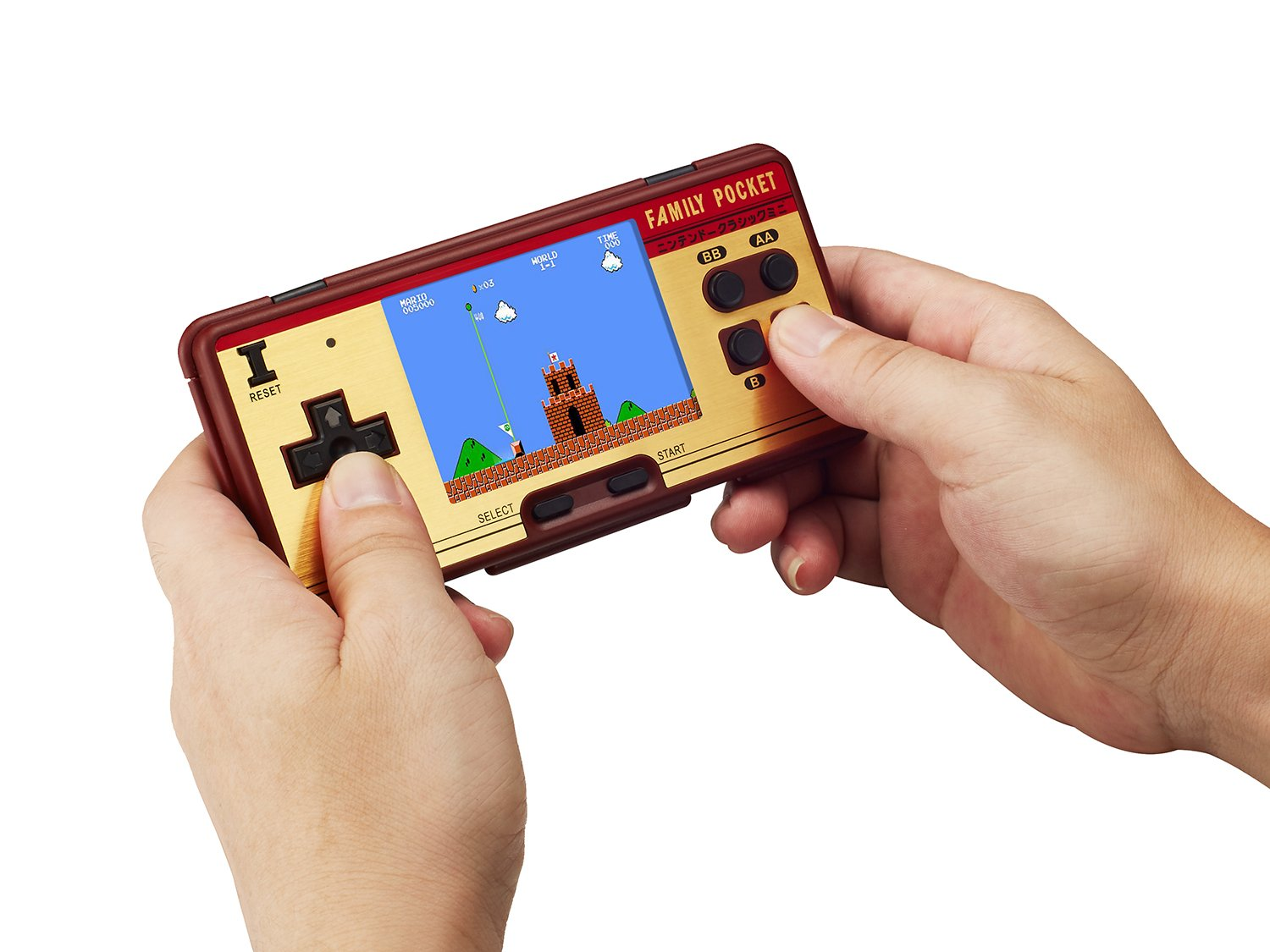 KISTORE Handheld Game Console, Game Console 3 Inch 638 Games Retro FC Game Player Classic Game Console, Birthday Presents for Children