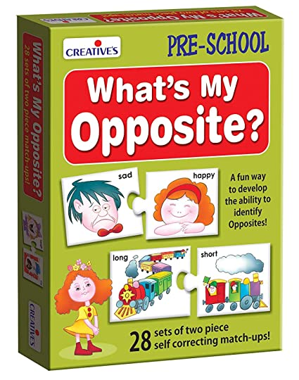 Amazon Com Stonkraft Preschool Learning Toys What S My Opposite