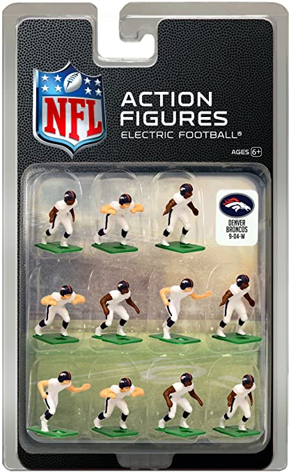the latest 5c383 08686 Denver Broncos Away Jersey NFL Action Figure Set