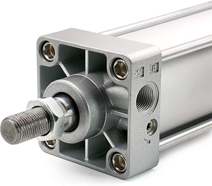 200 mm Woljay Cilindro neum/ático de aire SC 80 x 200 PT 3//8 con tornillo de doble acci/ón de ca/ña 80 mm de carrera