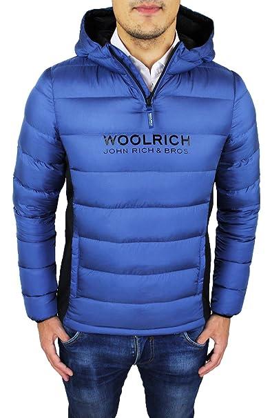 Woolrich - Abrigo de plumas para hombre, color Azul, Art. WKCPS1752 de auté