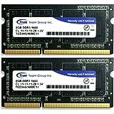 Team ノートPC用メモリ DDR3 1600MHz PC3-12800 シリーズ 永久保証 (4GBx2)