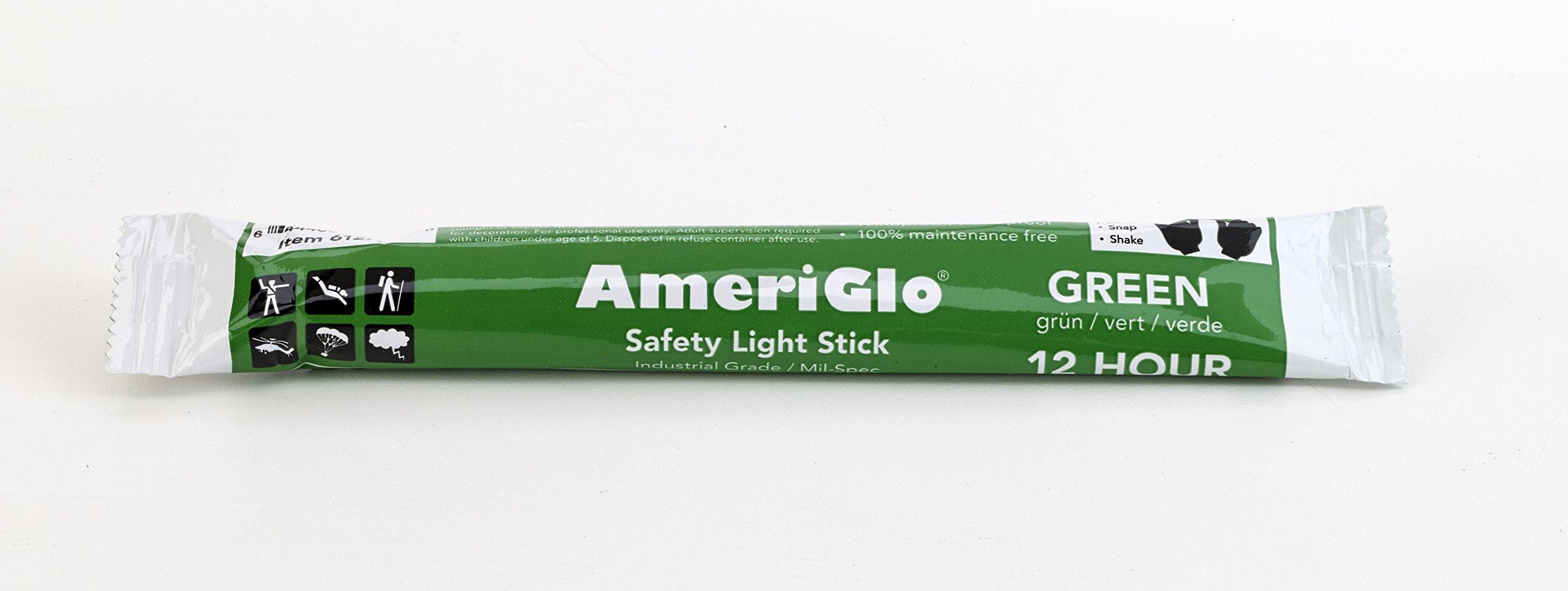 Mutual Industries Cyalume 12 Hours Lightstick, 6'' Length, Green