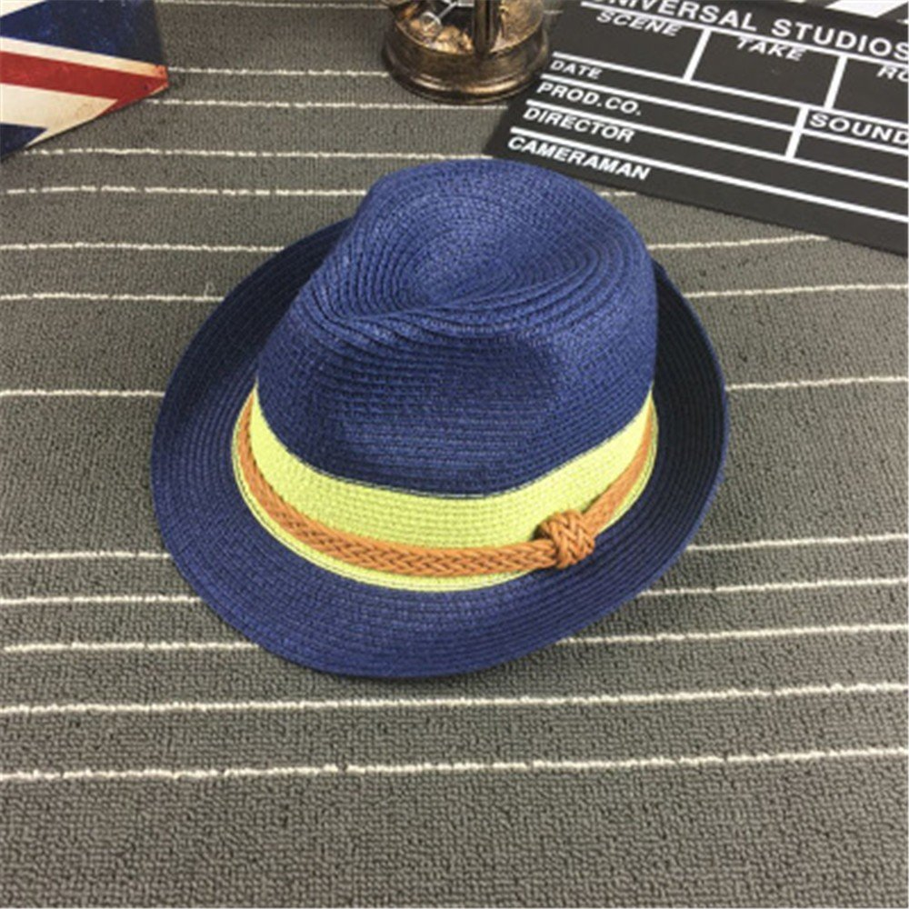Sombrero de Paja para Mujer Visera de Verano Transpirable Sombrero ...