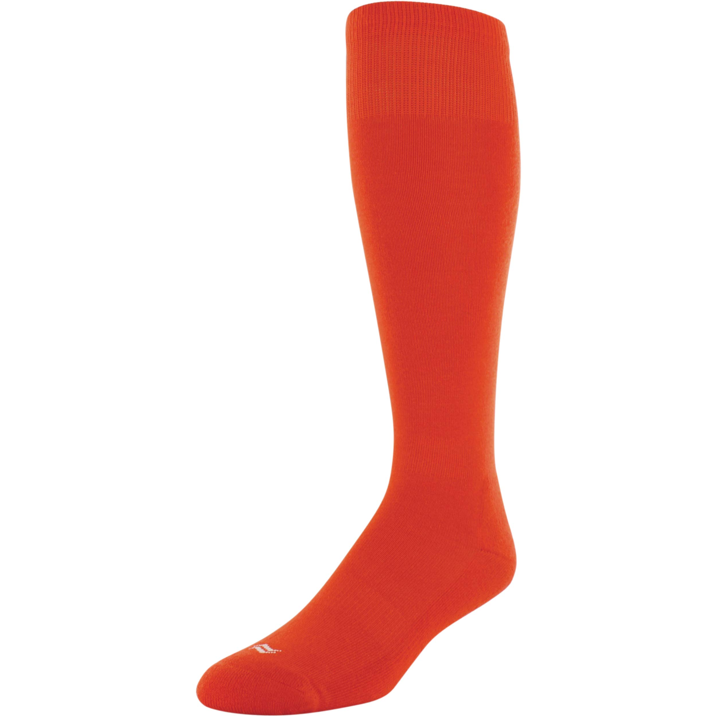 Sof Sole Adult Baseball Socks - Large - 2 Pair - Orange 10-13 by Sof Sole