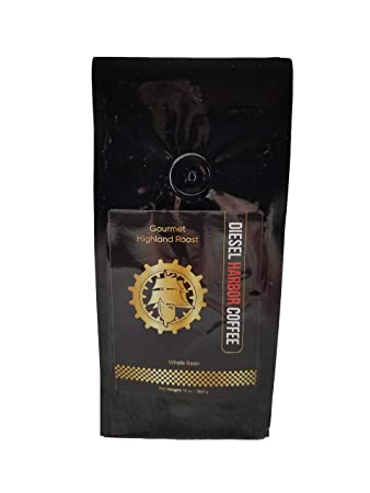 Highland Roast Coffee by Diesel Harbor Coffee | Fresh Roasted Gourmet Coffee with Caramel, Butterscotch