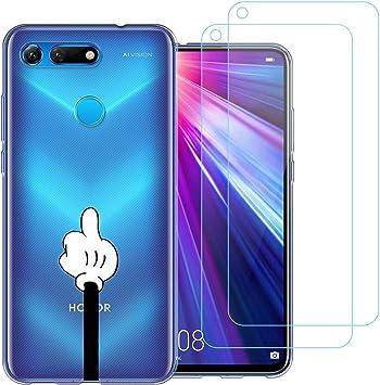 Funda Huawei Honor View 20,Gestos Especiales Flexible Suave ...